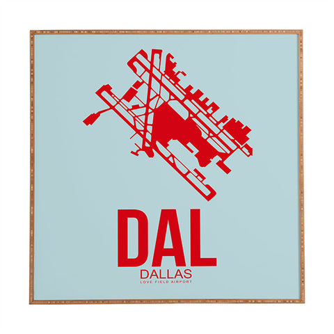 DAL Dallas Poster 3 by Naxart