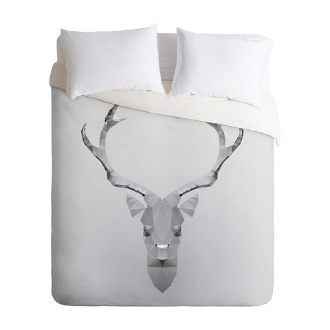 Deeer by Three of the Possessed Duvet Cover