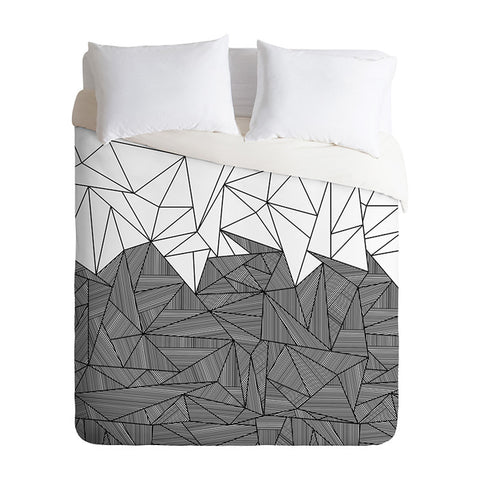 Brandy Rays by Fimbis Duvet Cover