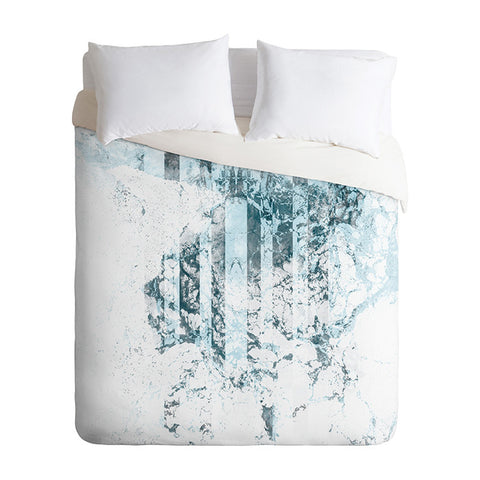 Swell Zone Fade by Caleb Troy Duvet Cover