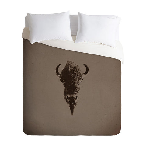 Old West by Leah Flores Duvet Cover
