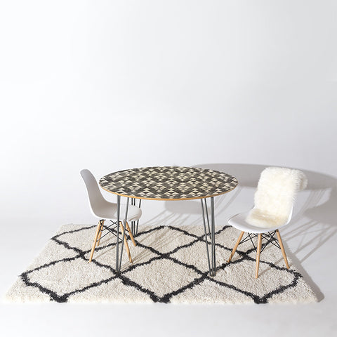 Stacked Round Table by Holli Zollinger
