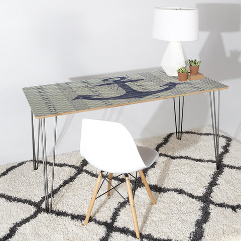 Scatter Stripes Desk by Zoe Wodarz