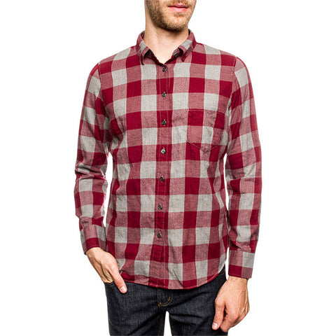 Mason Shirt in Dark Red