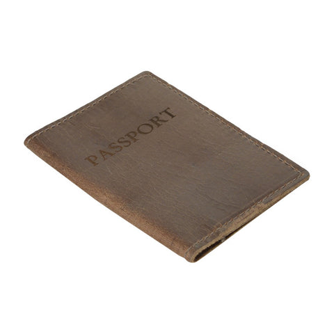 Passport Cover, Dk Brown