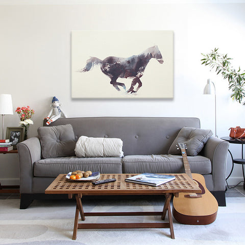Horse I by Andreas Lie Canvas Print