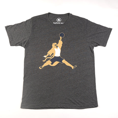 Air Dude T-Shirt in Heather Slate Gray