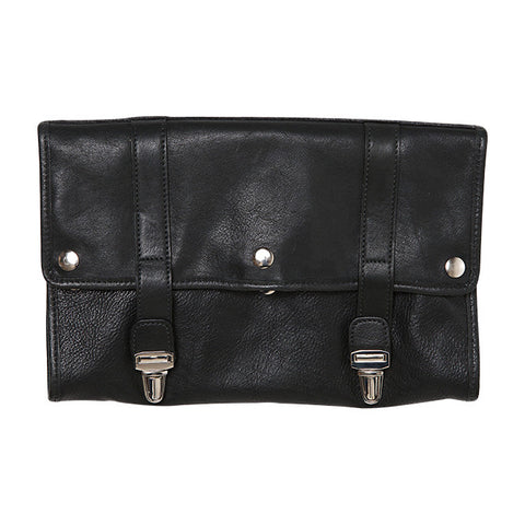 Austin Hanging Dopp Kit in Titan Milled Black
