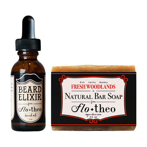 Beard Elixir/FreshWoodland Soap Kit