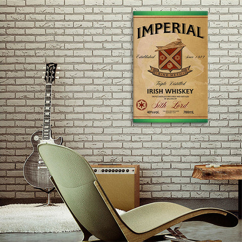 Imperial Irish Whiskey Canvas Print