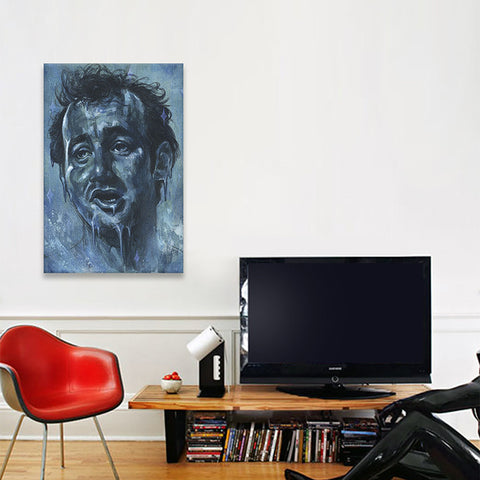 Chill Murray by Black Ink Art Canvas Print