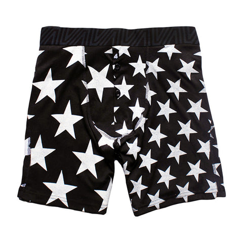 Fitted Boxers in Patriot Black
