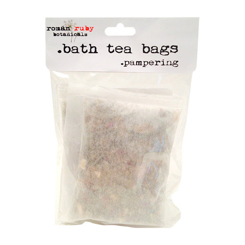 Pampering Bath Tea Bag