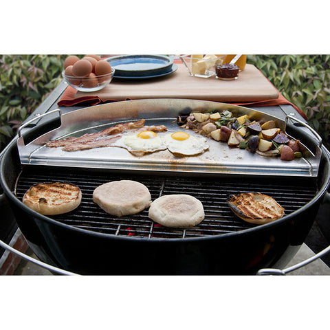 Stainless Pro Grill Griddle / Half Circle