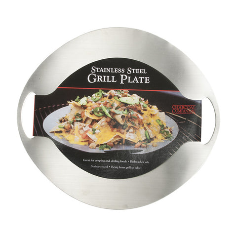 Stainless Steel Grilling / Serving Plate
