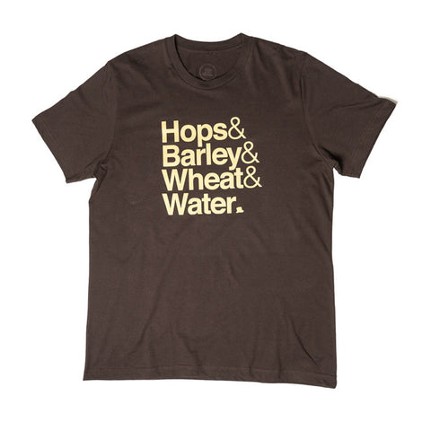 Beer T-Shirt in Brown/Tan