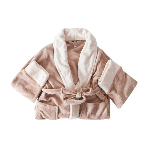 Lara Plush Robe in Latte