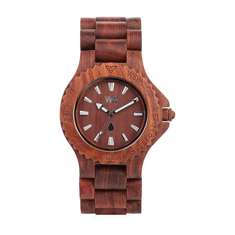 Date Watch in Brown
