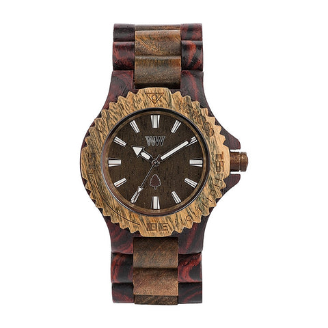 Date Watch in Brown-Army