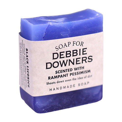 Debbie Downer Soap