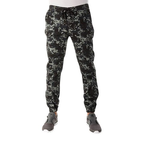 Delta Jogger Pant in Charcoal Camo