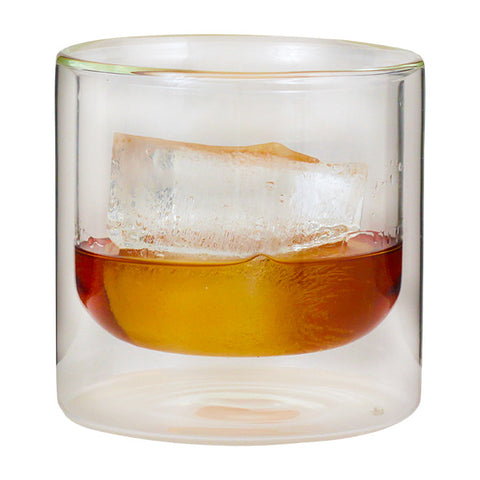 Double-Wall Whiskey Glass - Set of 2