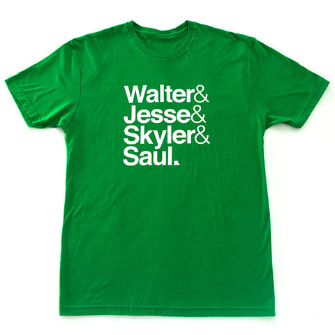 Breaking Bad T-Shirt in Kelly Green