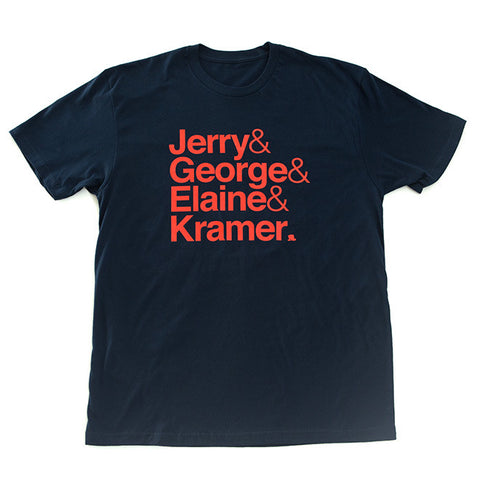 Seinfeld T-Shirt in Navy