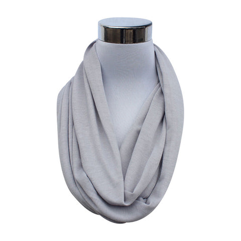 Rivalry Flask Scarf in Gray