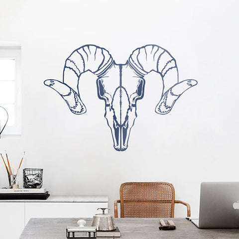 Ram Wall Decal in Blue