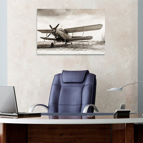 Hatcher & Ethan 'Helix Airplane' Canvas Art