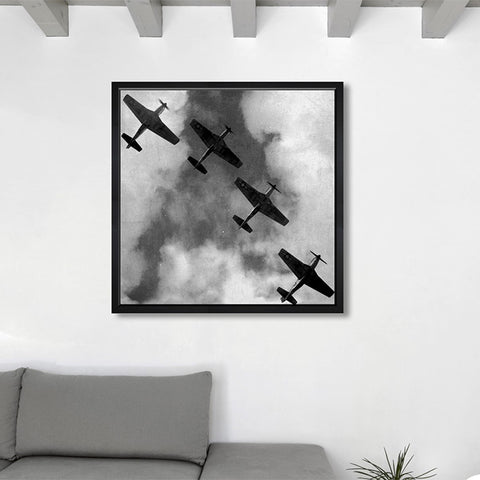 Hatcher & Ethan 'Airplanes 2' Framed Art