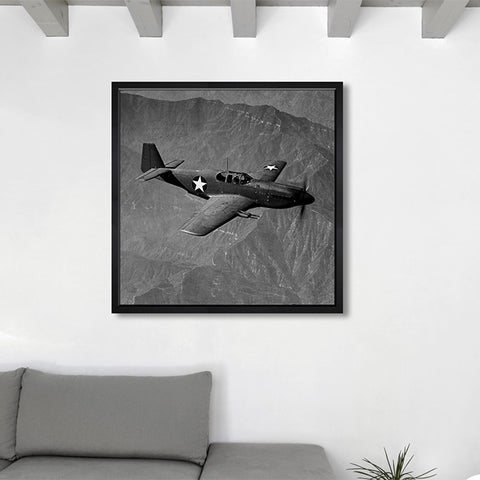 Hatcher & Ethan 'Airplanes 3' Framed Art