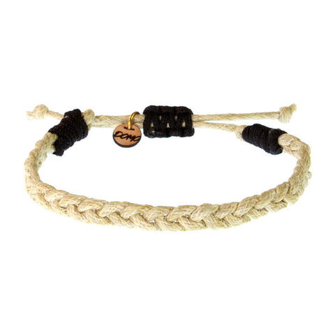 Cotton Braided Bracelet in Natural
