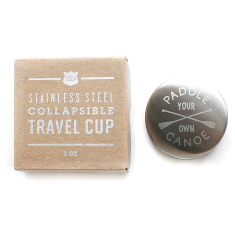 Canoe Travel Cup