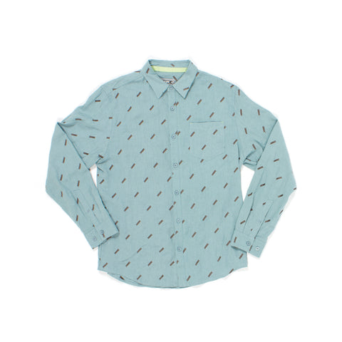 Jimmey L/S Woven in Blue