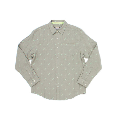 Jimmey L/S Woven in Platinum