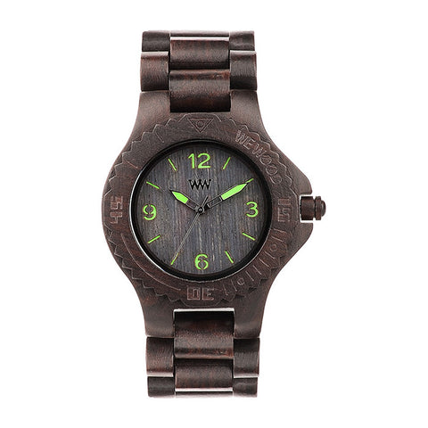 Kale Watch in Black-Green