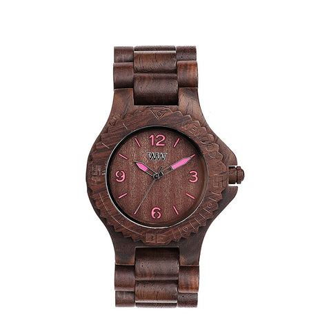 Kale Watch in Choco-Pink