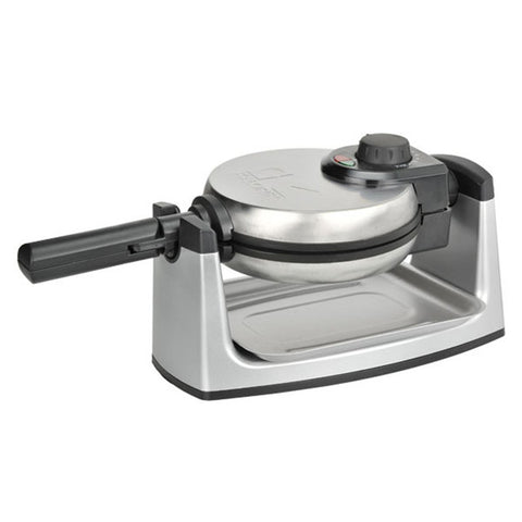 Rotary Belgian Waffle Maker in Stainless Steel