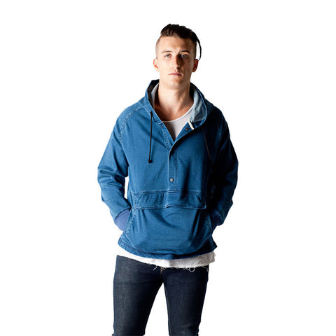 Kayle Sweatshirt in Denim