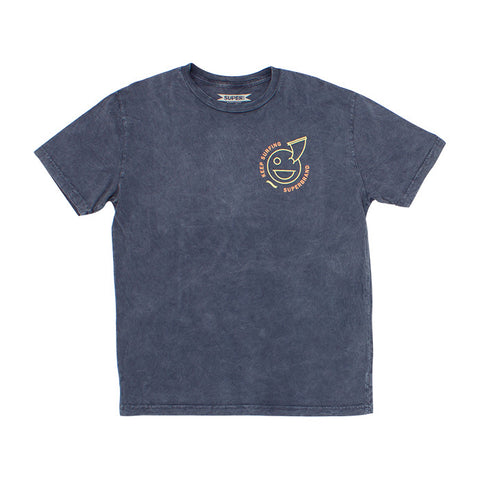 Keeper Tee in Navy