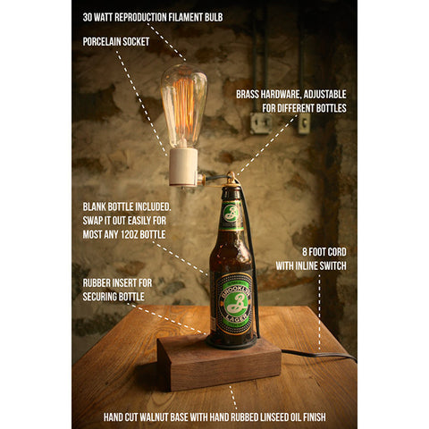 Beer Bottle Table Lamp
