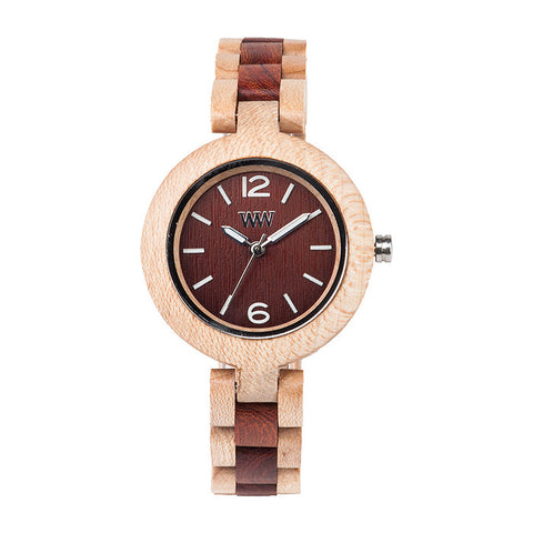 Mimosa Watch in Beige-Brown