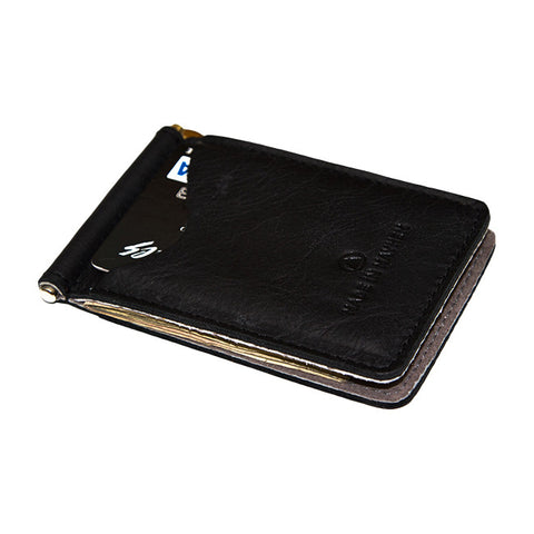 Madison Money Clip Wallet in Black