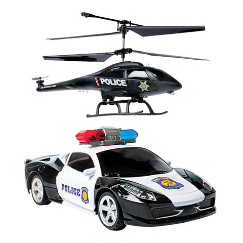 Duo Force with Gyro 3.5 Channel Remote Control Helicopter & Car