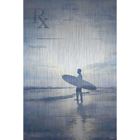 RX Surf - Art Print on Brushed Aluminum