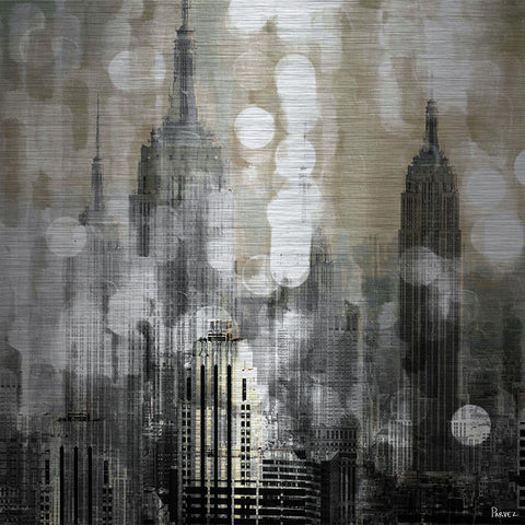 Empire - Art Print on Brushed Aluminum