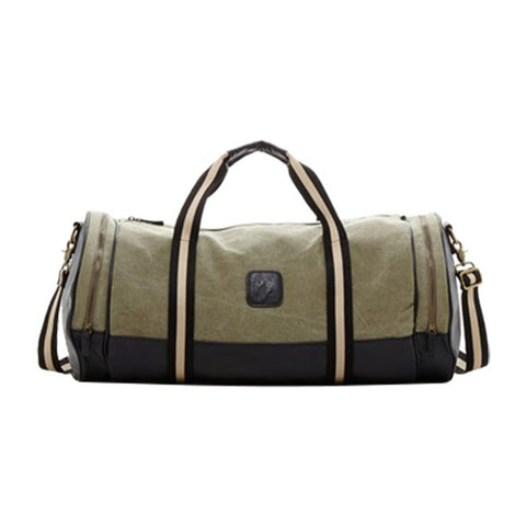 Adrian Duffle Bag in Forest Green