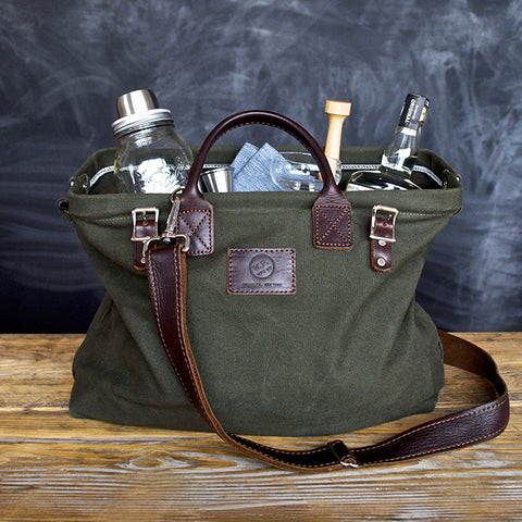 The W&P Cocktail Kit, Forest Green